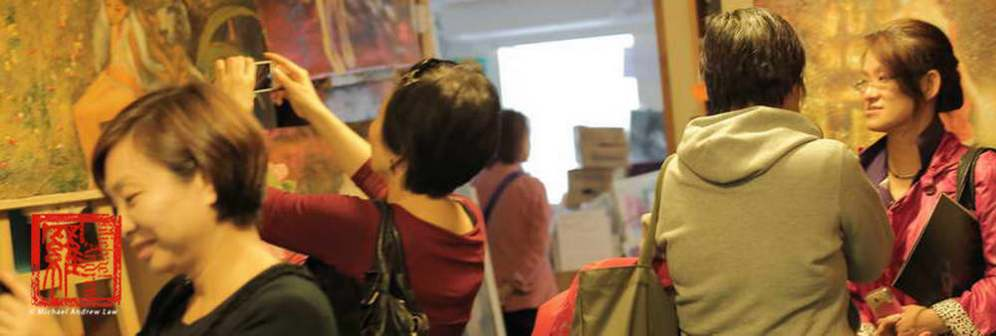 Michael Andrew Law Plus Iva Law At NatureArt Show 06_resize