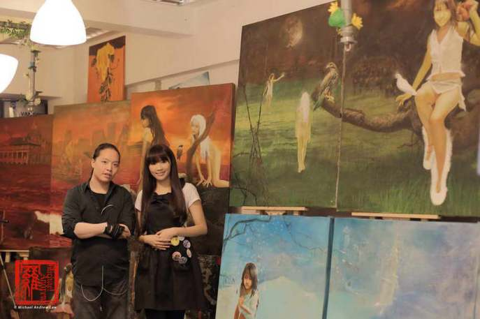 Michael Andrew Law Plus Iva Law At NatureArt Show 28_resize