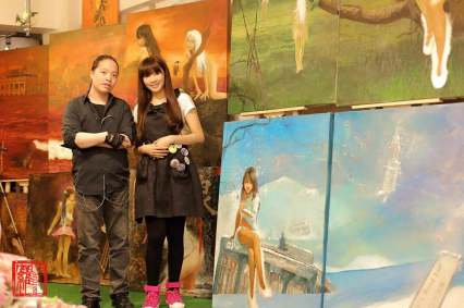 Michael Andrew Law Plus Iva Law At NatureArt Show 33_resize
