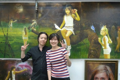 Michael Andrew Law and his Student Shaoyi