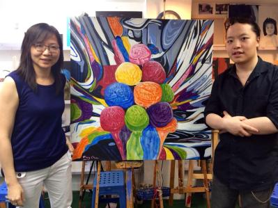 Michael Andrew Law and Mary Chan